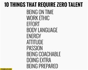 10 Things That Require 0 Talent